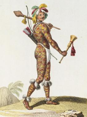 Brazil, Indian Man from Orinoco