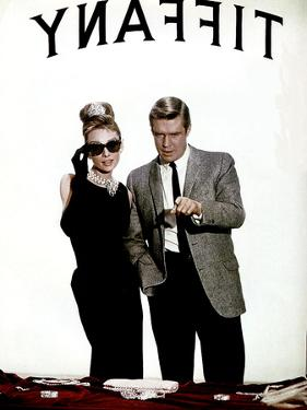 Breakfast at Tiffany's, Audrey Hepburn, George Peppard, 1961