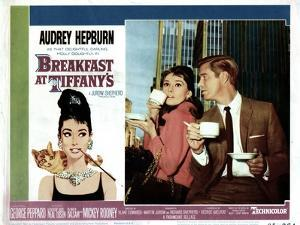Breakfast at Tiffany's, L-R, Audrey Hepburn, George Peppard, 1961