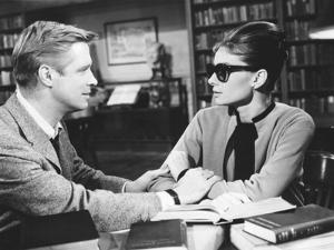 Breakfast at Tiffany's, L-R: George Peppard, Audrey Hepburn, 1961