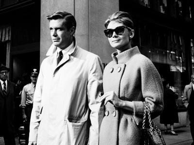 Breakfast at Tiffany's, L-R, George Peppard, Audrey Hepburn, 1961