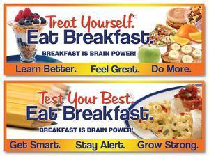 Breakfast is Brain Power Poster - 2