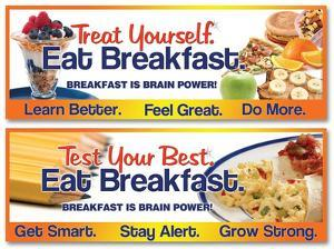 Breakfast is Brain Power Poster - 2
