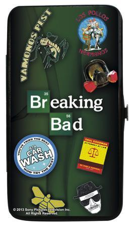 Breaking Bad Collage Hinged Wallet
