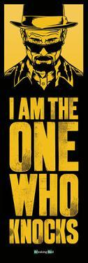 Breaking Bad - I Am The One Who Knocks Door Poster