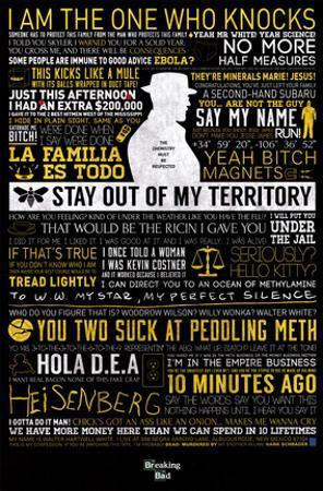 Breaking Bad - Typographic