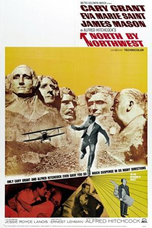 "Breathless, 1959, ""North by Northwest"" Directed by Alfred Hitchcock"
