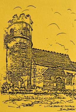 Little Bradley Church, Suffolk by Brenda Brin Booker