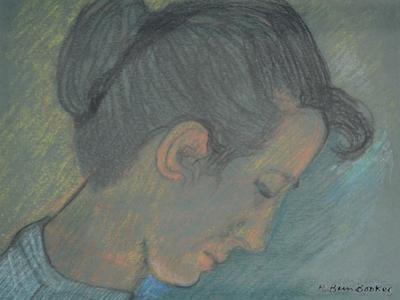 Portrait of Joan by Brenda Brin Booker