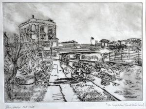 Pub by the Towpath, Camden by Brenda Brin Booker