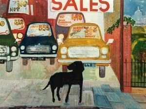 Rex at the Used Car Lot; SALES by Brenda Brin Booker
