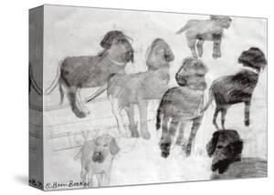 Rex - sketches at the used car lot by Brenda Brin Booker