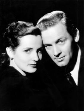 Brenda Marshall and Her Husband William Holden