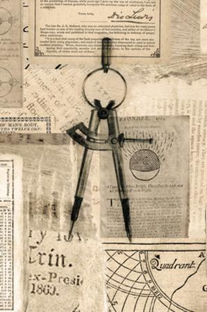 Academic Drafters Compass Illustration