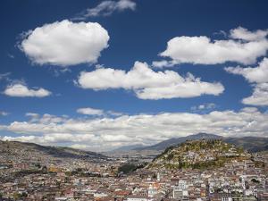 City View with El Panecillo, Quito, Ecuador by Brent Bergherm