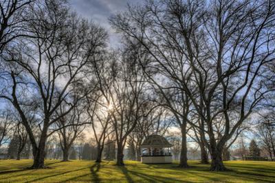 USA, WA, Walla Walla. Pioneer Park Gazebo by Brent Bergherm