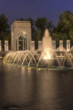USA, Washington D.C. World War II Memorial by Brent Bergherm