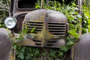 USA, Washington State, Columbia County. Abandoned car just north of Dayton. by Brent Bergherm