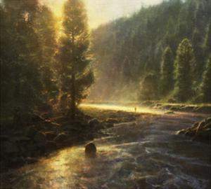 Morning in the Wilderness by Brent Cotton