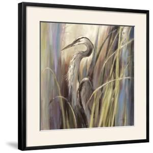 Coastal Heron by Brent Heighton