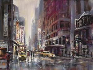 Manhattan Rain by Brent Heighton