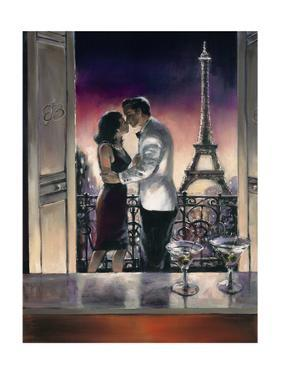 Paris Kiss by Brent Heighton