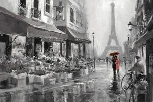 Red Umbrella by Brent Heighton
