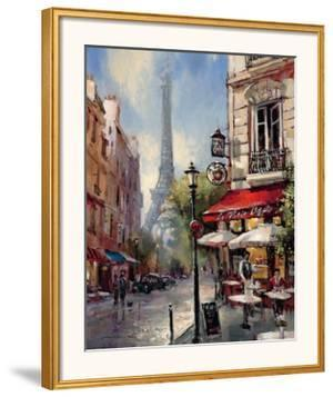 Tour De Eiffel View by Brent Heighton