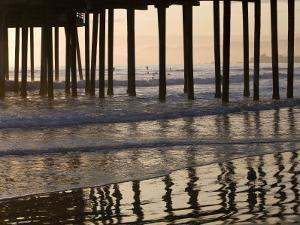 Pacific Ocean and Pismo Beach Pier by Brent Winebrenner