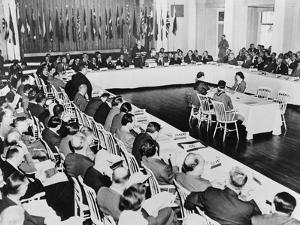 Breton Woods Conference at the Mount Washington Hotel, July 1944
