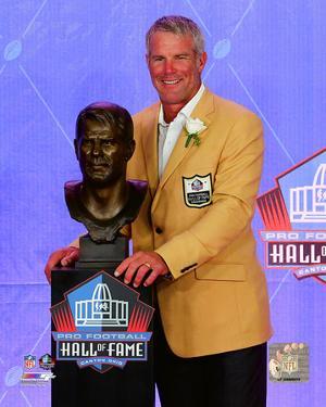 Brett Favre 2016 NFL Hall of Fame Induction Ceremony