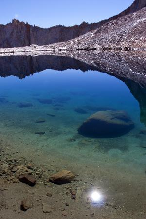 Iceberg Lake Near Mount Whitney in Lone Pine, California