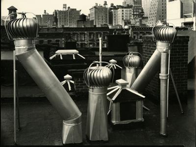 Air Vents, New York, 1943 by Brett Weston