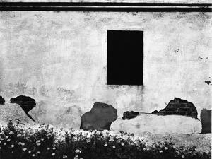 Black Window, Mariposa, California, 1950 by Brett Weston
