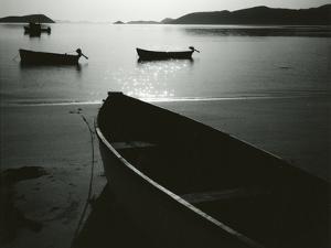 Boats and Bay, Los Angeles Bay, Baja California, 1964 by Brett Weston