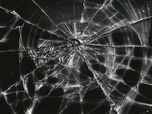 Broken Glass, c. 1955 by Brett Weston