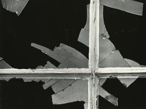 Broken Glass, Window, 1975 by Brett Weston