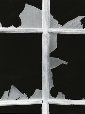 Broken Window, 1971 by Brett Weston