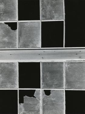Broken Window, 1972 by Brett Weston