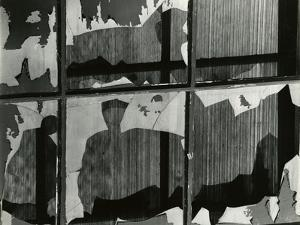 Broken Window, 1978 by Brett Weston