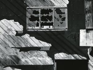 Broken Window, Building, San Francisco, 1974 by Brett Weston