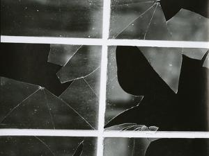 Broken Window, c. 1970 by Brett Weston