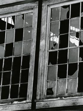 Broken Window, c.1970 by Brett Weston