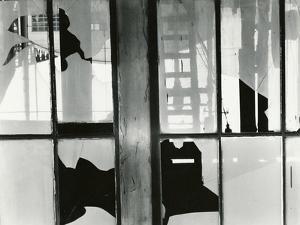 Broken Window, Storefront, San Francisco, 1960 by Brett Weston