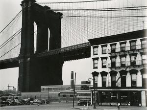 Brooklyn Bridge, New York, 1946 by Brett Weston