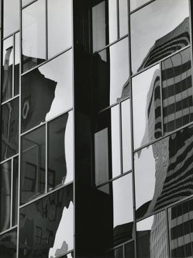 Building Reflection, 1981 by Brett Weston