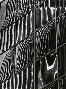 Building Reflection, c. 1975 by Brett Weston