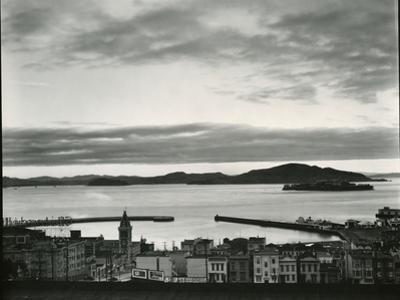 Buildings and Bay, San Francisco, 1937 by Brett Weston