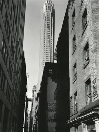 Buildings, New York, c. 1945 by Brett Weston