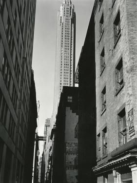 Buildings, New York, c. 1945 by Brett Weston